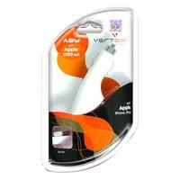 Автомобильное зарядное устройство для iPhone 3G / 3GS / 4 / iPod 1000mAh Vertex