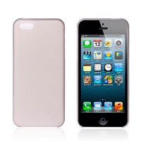 Ультратонкий чехол накладка для iPhone 5c серый
