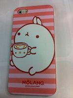 Накладка MOLANG Rabbit для iPhone 5 / 5s / SE заяц с чашкой