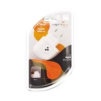 Сетевое зарядное устройство для iPhone 3G и iPhone 4 1000mAh Vertex