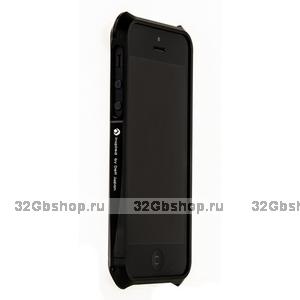 Алюминиевый бампер Deff CLEAVE для iPhone 5 / 5s / SE черный
