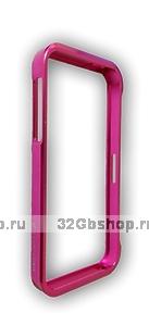 Aлюминиевый бампер для iPhone 5 / 5s / SE Vapor 5 розовый