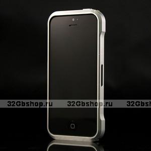 Aлюминиевый бампер для iPhone 5 / 5s / SE Vapor 5 серебро