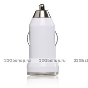 Автомобильная зарядка для iPhone 5 - 1000mAh (блок питания)