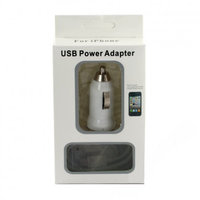 Автомобильное зарядное устройство USB Power для iPhone 5