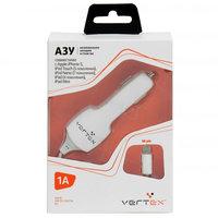Автомобильное зарядное устройство для iPhone 5s / 5 - Vertex - 1000mAh