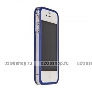 Бампер Griffin для iPhone 5 / 5s / SE синий