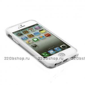 Бампер VSER для iPhone 5 / 5s / SE белый