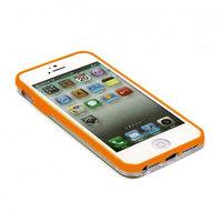 Бампер VSER для iPhone 5 / 5s / SE оранжевый