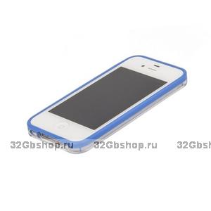 Бампер VSER для iPhone 5 / 5s / SE синий