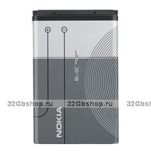 Аккумулятор оригинальный Nokia BL-5C (1110 / 1200 / 1600 / 1680c / 2700c / 2710 / 5130 / 6085 / 7610 / N70 / N72 / X2-01)