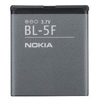 Аккумулятор Nokia BL-5F (для Nokia 6290 / 6710 / E65 / N93 / N95 / N96 / X5-00 / X5-01) оригинал