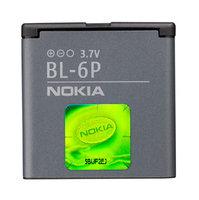 Аккумулятор Nokia BL-6P оригинальный (для мобильного телефона Nokia 6500 classic/7900)