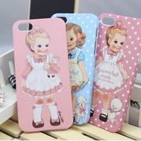 Накладка British Paper Doll Case для iPhone 5 / 5s / SE девочка в платье