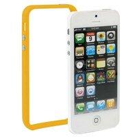 Бампер для iPhone 5 / 5s / SE оранжевый