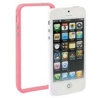 Бампер для iPhone 5 / 5s / SE розовый