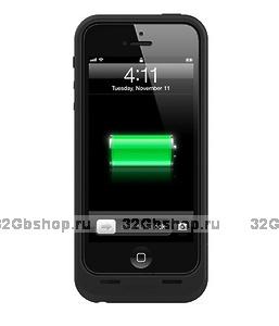 Чехол аккумулятор для iPhone 5s / 5 / SE - Juice Pack PRO Black for iPhone 5s / 5 / SE - 2500mAh