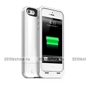 Чехол аккумулятор для iPhone 5s / 5 / SE - Juice Pack Plus White for iPhone 5s / 5 / SE - 2000mAh
