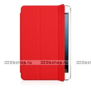 Чехол для iPad mini 3 / mini 2 retina - Smart Cover Red - красный