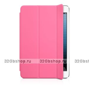 Чехол для iPad mini 3 / mini 2 retina - Smart Cover Pink - розовый