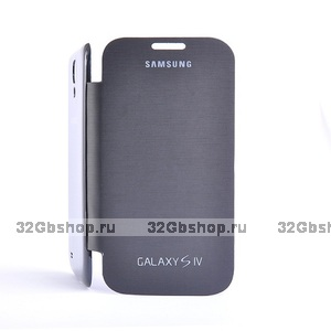 Чехол для Samsung Galaxy S4 - Flip Cover Black