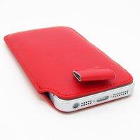 Чехол карман c язычком Pull Tab Pouch Red для iPhone 5 / 5s / SE красный