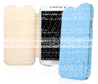 Чехол книга Baseus Ultrathin Case Blue для Samsung Galaxy S4 - голубой