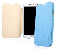Чехол книга Baseus Ultrathin Case Blue для Samsung Galaxy S4 - голубой