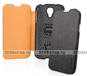 Чехол книга Baseus Ultrathin Case Black для Samsung Galaxy S4 - черный