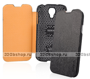 Чехол книга Baseus Ultrathin Case Black для Samsung Galaxy S4 - черный