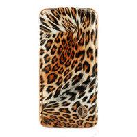 Чехол книга Rada Leopard Pattern для iPhone 5 / 5s / SE леопард