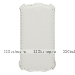 Белый чехол книжка Armor Case для Samsung Galaxy S6