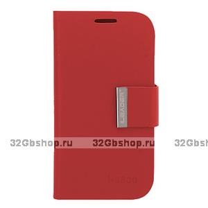 Чехол-книжка для Samsung Galaxy S4 - Red