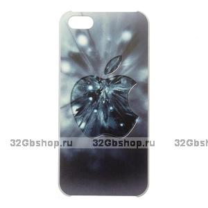 Чехол-накладка Apple Grey Blur Case для iPhone 5 / 5s / SE