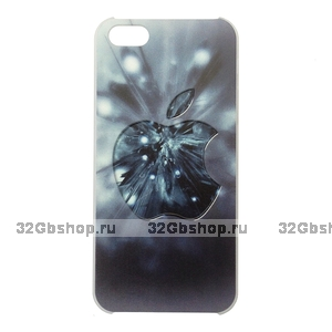Чехол-накладка Apple Grey Blur Case для iPhone 5 / 5s / SE