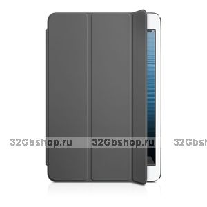Чехол для iPad mini 3 / mini 2 retina - Smart Cover Grey - серый