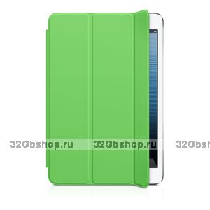 Чехол для iPad mini 3 / mini 2 retina - Smart Cover Green - зеленый