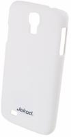Пластиковый чехол накладка Jekod для Samsung Galaxy S4 - белый