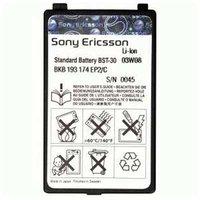 Аккумулятор Sony Ericsson BST-30 для телефонов Sony Ericsson F500i, J210i, K300i, K500i, K508, K700i, T230, T290i, Z200