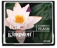 Карта памяти Compact Flash 4Gb kingston