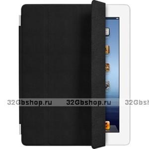 Кожаный чехол для iPad mini Smart Cover черный
