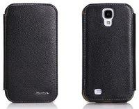 Кожаный чехол Nuoku для Samsung Galaxy S4 - черный