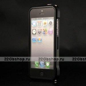 Aлюминиевый бампер для iPhone 5 / 5s / SE Vapor  черный