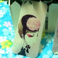 Накладка Japan Girl 3D Pattern Case для iPhone 5 / 5s / SE c объемным рисунком девочка в шляпке