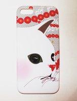 Накладка Jetoy для iPhone 5 / 5s / SE котик и бусы