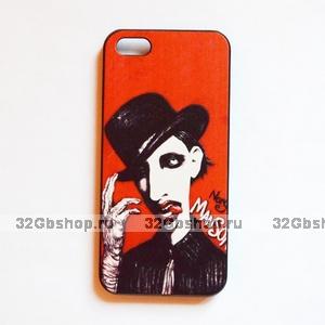 Накладка Marilyn Manson Case для iPhone 5 / 5s / SE