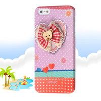 Накладка Memo Q Bear Case для iPhone 5 / 5s / SE медвежонок