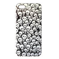 Накладка Scream Mask Pattern Case для iPhone 5 / 5s / SE - черный