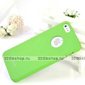 Накладка Moshi iGlaze 5 для iPhone 5 / 5s / SE зеленая