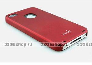 Накладка Moshi iGlaze 5 для iPhone 5 / 5s / SE темно-красная